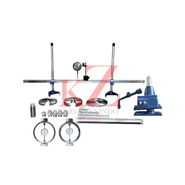 Suplier alat-alat laboratorium teknik sipil Field CBR Test Set ASTM D-4429 / MRA-90-T For determining CBR value on place.