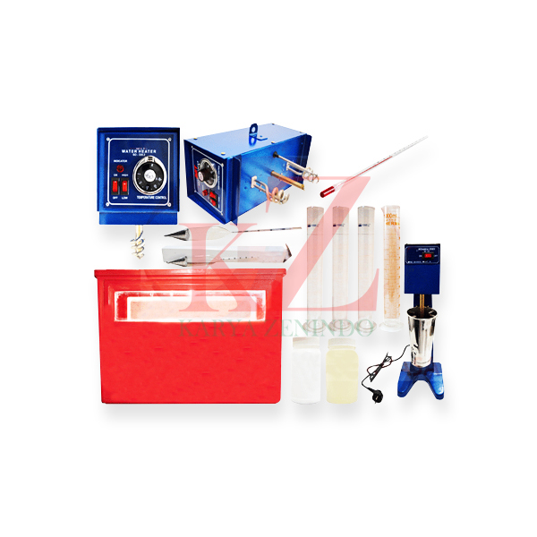 Suplier alat-alat laboratorium teknik sipil Hydrometer Analysis Test Set