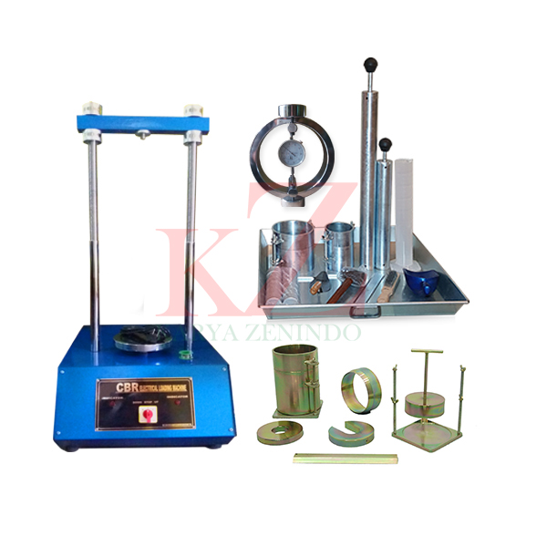 Suplier alat-alat laboratorium teknik sipil Laboratory CBR Test Set (Electric)