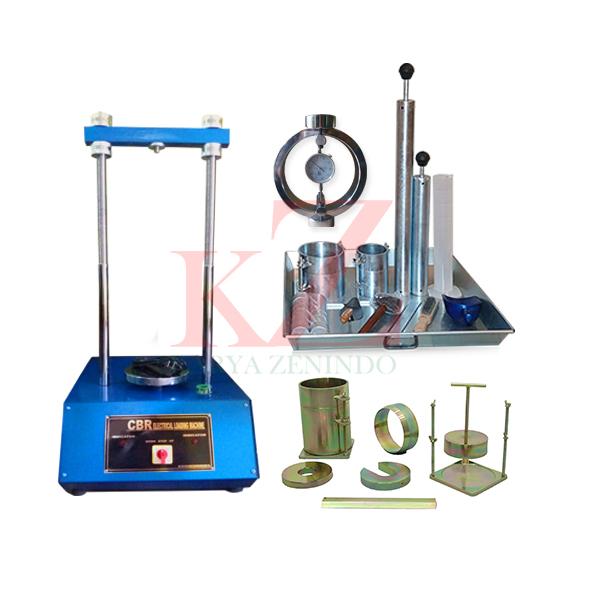 Suplier alat-alat laboratorium teknik sipil Laboratory CBR Test Set (Electric) For determining the bearing ratio of soil ASTM D-1883  /  AASHTO T-193