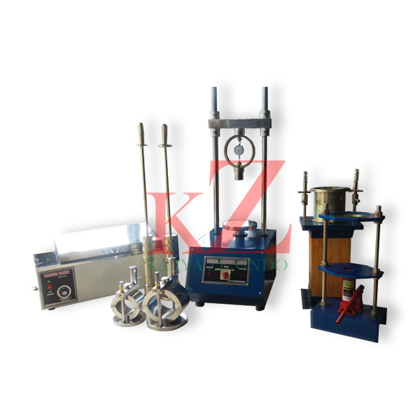 Suplier alat-alat laboratorium teknik sipil Marshall Test Set
