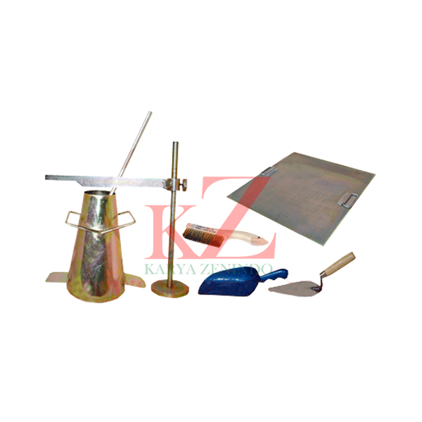 Suplier alat-alat laboratorium teknik sipil Slump Test Set